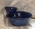 photo of chip and dip bowl made by Debra Ocepek of Ocepek Pottery