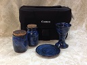 photo of our Chaplain Travel Communion Set