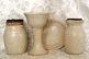 photo of Chaplain travel communion set made by Debra Ocepek of Ocepek Pottery