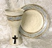 photo of our Pouring Chalice and Paten Set